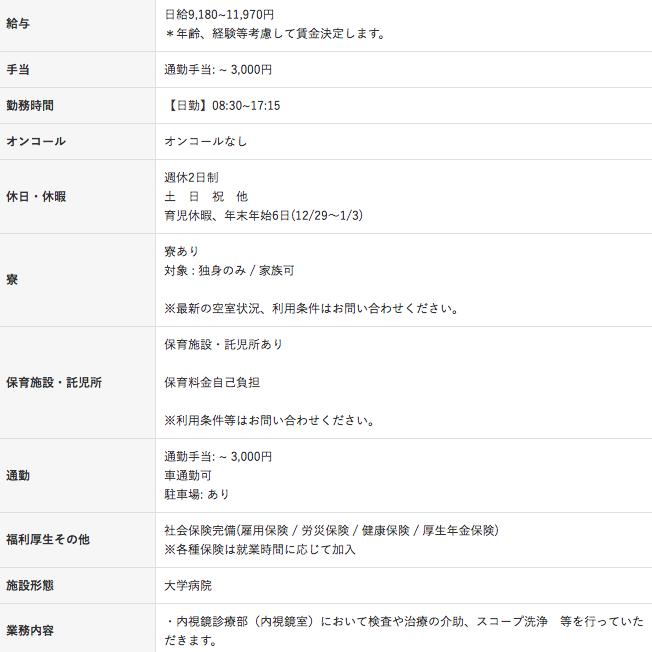 福島県立医科大学付属病院の看護師求人